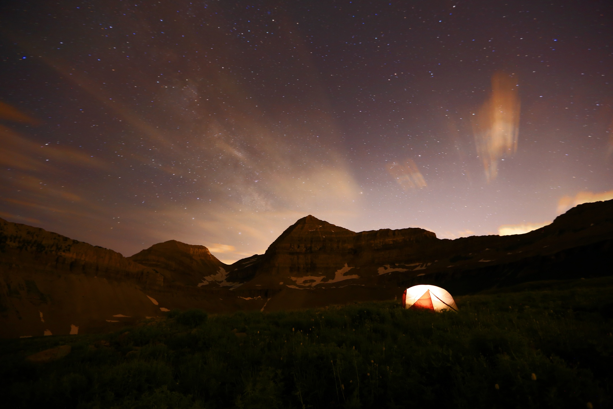 backcountry camping in the wasatch national forest
