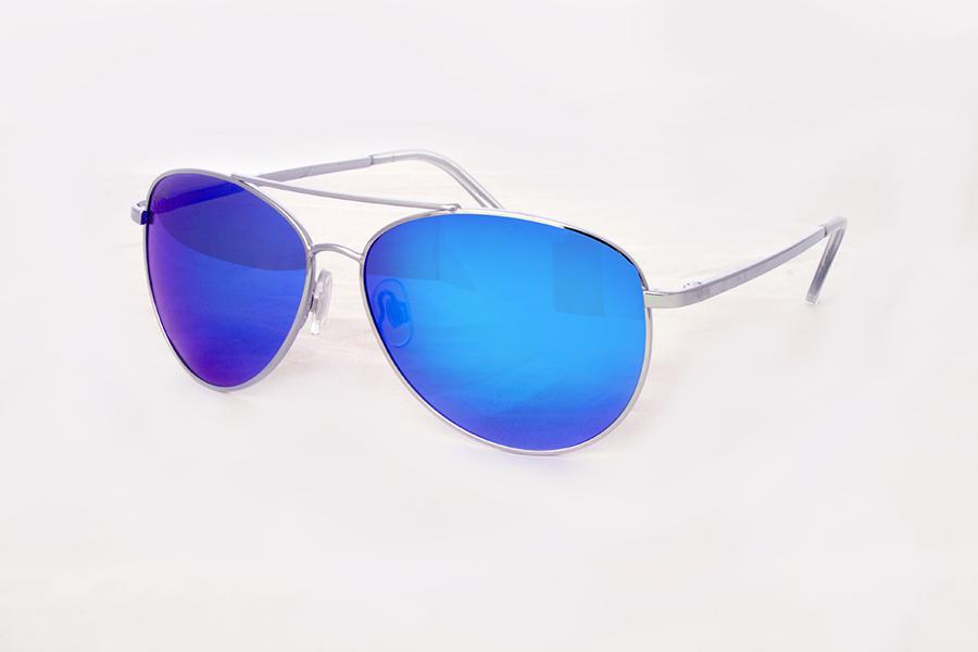 Retro aviator sunglasses